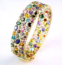 Italian Fine Jewelry Designers | Wondering Jewelry Collections: italian design gold bangle