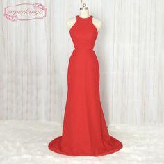 Red Wedding Guest Dresses, Sexy Formal Dresses, Mermaid Bridesmaid Dresses, Dress Robes, Wedding Events, Weddings, Elegant Wedding, Backless, Fashion