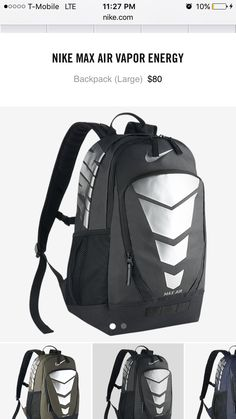 a9e85d0470 Nike Max Air Vapor Large Energy Backpack Men - All Accessories - Macy s
