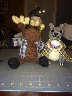 Supernatural Moose and Squirrel by SPNWhatNots on Etsy