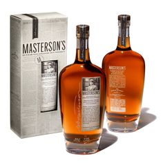 This is a brand of whiskey called Masterson's. I've never heard of this brand but I thought the packaging was very neat. I like the theme of everything.
