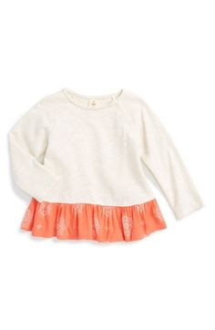 Tucker + Tate Peplum Tunic (Baby Girls) available at #Nordstrom