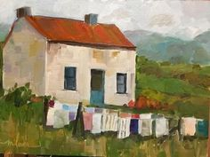 """Laundry Day"" - Martha Lever"