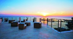 Wow, talk about a view! Dream luxury beach front villa... sounds like the perfect spot for a destination wedding!