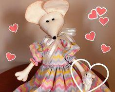 Boneca Rata Dolores com Ursinho