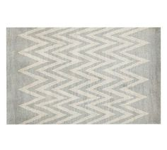 Becki Chevron Rug | Pottery Barn