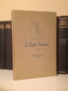 1946 Le Petit Prince Antoine de Saint-Exupery French The Little Educational Ed.