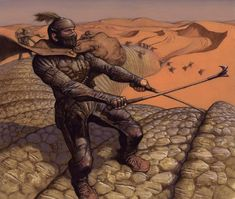 Dune: Collectible Card Game Illustrations by Mark Zug