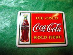 Coke Cola Heart Shaped Fridge Magnets