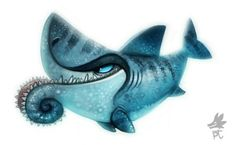 Cryptid Creations: Helicoprion Shark