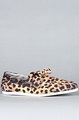 The Leopard Dock Bow Sneaker #shopcade #fashion #karmaloop #style #leopard #animalprint #shoe