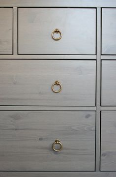 ikea hack (knobs)