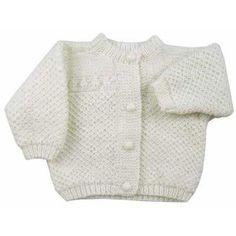 Classic Baby Jacket Free Knitting Pattern