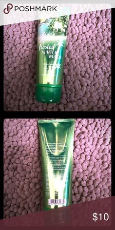 Bath & Body Works Signature : Frosted Winter Woods Bath & Body Works Signature Collection: Frosted Winter Woods. Full Amount, only tried it. I'm not a fan of the scent, but know others love this one. All shipping comes from a non-smoking house with kids/cat/dog. Bath & Body Works Makeup
