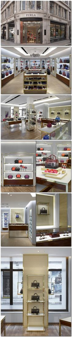 Risers - Furla flagship store at Regent Street by HMKM
