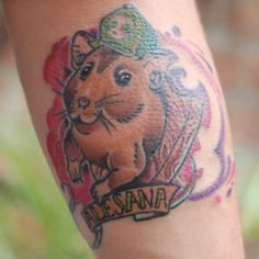 hamster tattoo 5 hamster tattoo pinterest. Black Bedroom Furniture Sets. Home Design Ideas