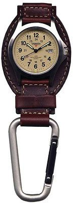Other Wholesale Wristwatches 40133: Dakota Watches Leather Hanger, Cream Dial, Tan Leather, Silver Carabineer 3550-8 -> BUY IT NOW ONLY: $34.0 on eBay!