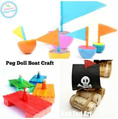Have a bit of water fun this summer with these 15 Super Fun Boat Crafts for Kids. They're fun. They're educational, and they float!!
