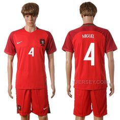 http://www.yjersey.com/portugal-4-miguel-home-euro-2016-jersey.html PORTUGAL 4 MIGUEL HOME EURO 2016 JERSEY Only 35.00€ , Free Shipping!