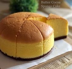 "Not a very beautiful cake but it has a moist and velvety texture :) Baked: one 6"" round cake Ingredients All ingredient..."