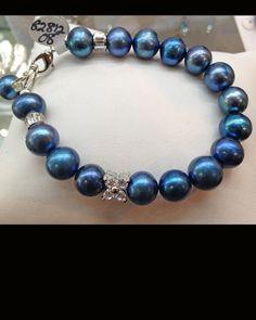 www.srntyjewelry.com  Natural Peacock Freshwatrer Pearls