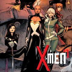 Storm and Rogue Lead @Marvel Entertainment 's new all-female X-Men series