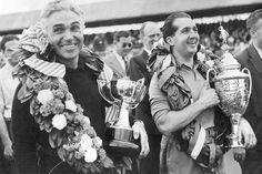 Alberto Ascari e Piero Taruffi 1952 Silverstone