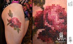 Julie Hamilton oly anger tattouage