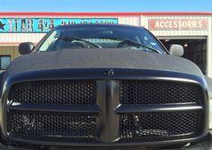 2004 RAM 1500 custom sprayed in satin black #ram #truck #follow #lonestar4x4 #sprayed