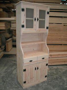 Mueble de cocina tipo cabaña