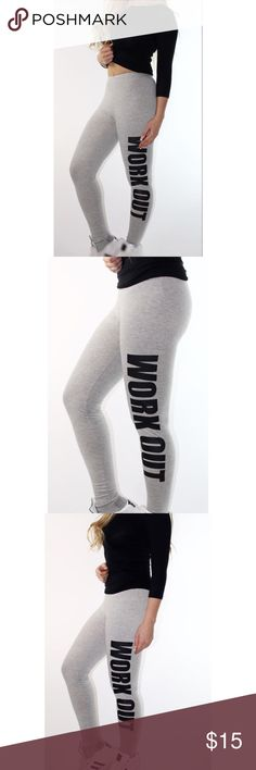 Work out skinny pants 👖💙 One size skinny active pants. Perfect for gym💙 it fits XS to M sizes💙           Style : Active Length: Normal Material : Cotton Blends,Polyester Fit Type: Skinny Waist Type : High Pant Style: Pencil Pants Pants Leggings
