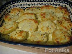 Domowa kuchnia Aniki: Ziemniaki zapiekane z serem