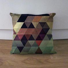 Geometric pillow case
