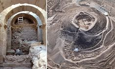 Archaeologists uncover the entrance to King Herod the Great's palace
