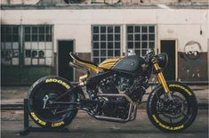 Virago Bobber, Virago Cafe Racer, Yamaha Cafe Racer, Cafe Bike, Cafe Racer Motorcycle, Cafe Racers, Motorcycle Design, Bike Design, Scrambler