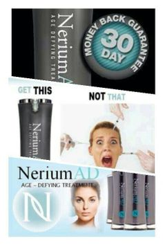 "NeriumAD™ Real Science. Real Results. Cleanse. Apply. Sleep. Repeat. Message me directly for more product info or to learn how YOU can join OUR team www.maraneline24.nerium.com or click the orange ""Purchase"" button. Go ahead, treat yourself!"