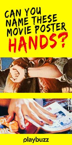 We've clipped a selection of famous movie posters that show hands, fingers, thumbs and forearms - all you have to do is match the movie to the picture. *** #PlaybuzzQuiz General Knowledge Movie Night Game Trivia Movie Posters Fun Hollywood Netflix Disney HBO Hulu Playbuzz Quiz Famous Movie Posters, Famous Movies, Playbuzz, Your Name, Trivia, Fingers, Netflix, Knowledge, Names