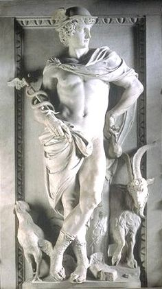 Hermes was an Olympian god in Greek religion and mythology, son of Zeus and the Pleiad Maia. He was second youngest of the Olympian gods
