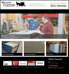 All of our casework components are built for lasting, utmost strength and durability.