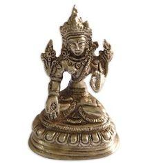 Objet de vitrine - Figurine en laiton de Tara Bouddha: Amazon.fr: Cuisine & Maison