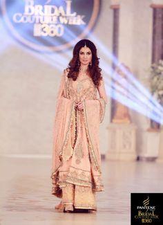 pakistan bridal couture week 2013 Lahore.