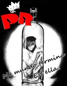 Rock Y Metal, El Rock And Roll, Vodka Bottle, Princess, Music, Rock Quotes, Couple Quotes, Iron, Muziek