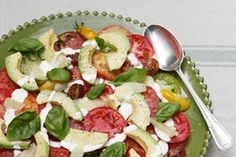 Tomato lemon and avocado salad with lemon cream dressing recipe, Listener – Nothing else has the tomatoamprsquos versatile combination of savoury and sweet says Lauraine Jacobs The following recipe is a family favourite that is included in my repertoire thanks to my mother It is a very refreshing salad thatamprsquos perfect for a barbecue – bite.co.nz