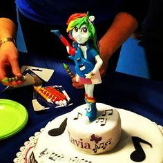 #equestriagirlcake  #raimbowdash #cakedesign #caketopper