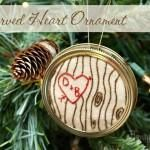 Carved Heart Ornament OMG LOVE @Chris Inness Duman  and @Jenn L Barbee Watts and @Hannah Mestel Speight