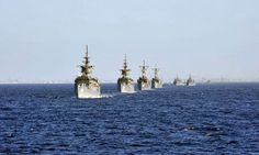 Iran Says Warships a