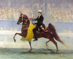 GRANDE CHAMPION by James L. Crow | American Saddlebred Museum 2009 Auction