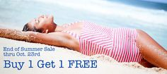 Beverly Swimwear. Special sale going on till Oct 23rd. Modest swimsuits, one piece swimsuits. and vintage style bikinis.