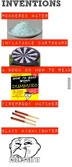 Stupid inventions!