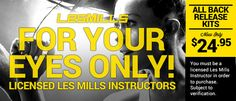 SCW Fitness Education - Les Mills Back Release Kits